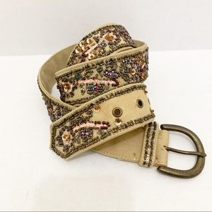 Fossil | Beaded Sequin Belt
